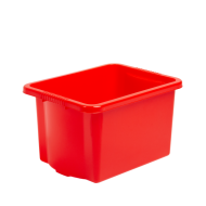 Stack & Store Storage Box 24ltr Colours Blue or Red