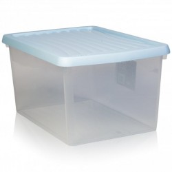 16 Ltr Clear Storage box with lid