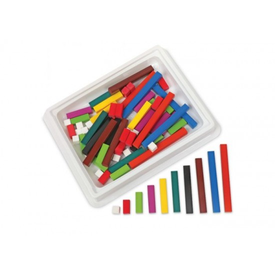 LER7501 Cuisenaire® Rods Small Group Set (in a tub)