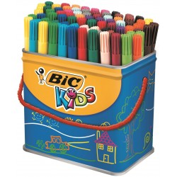 BIC colouring markers/pens drum 48