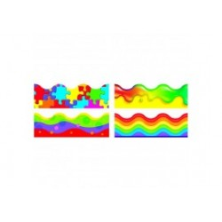 Colour Blast Variety Pack of 4 Borders
