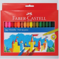 Faber Colouring markers box 24 broad tip