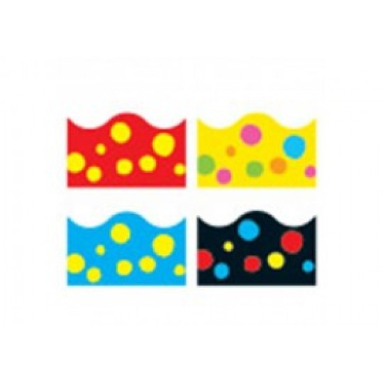 Lotsa Spots Variety pack of 4 Borders