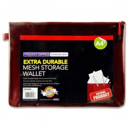 Premto A4+ Extra Durable Mesh Wallet  Pack 12-