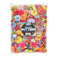 500grm Assorted size buttons