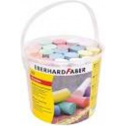 Eberhard Faber Jumbo sidewalk chalk Tub 20 sticks