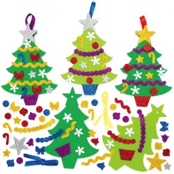 AX4261 Christmas Tree Mix & Match Decoration Kits pack 8