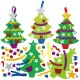 AX4261 Christmas Tree Mix & Match Decoration Kits pack 32 Christmas Shop