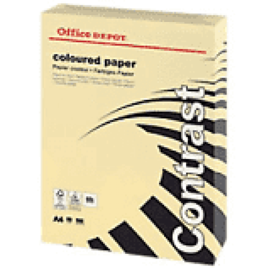 A4 creme copy paper-ream 500 sheets Office Products