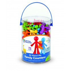 LER3372 All About Me Family Counters