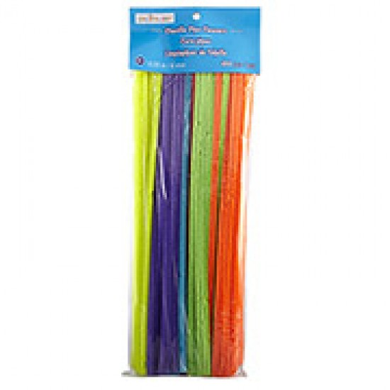 """12"""" Pipe cleaners pack 100"""