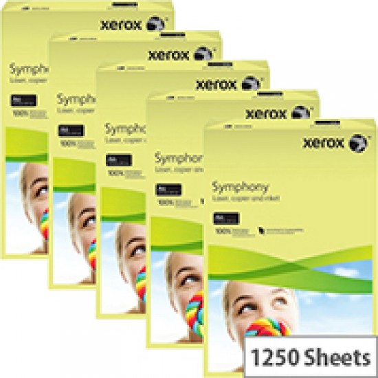 A4 Pastel Yellow copy paper-ream 500 sheets Arts & Crafts