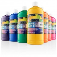 Poster Paint box 12 colours 500ml