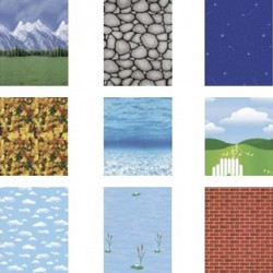 Themed Fadeless backing paper 12ft x 4 ft
