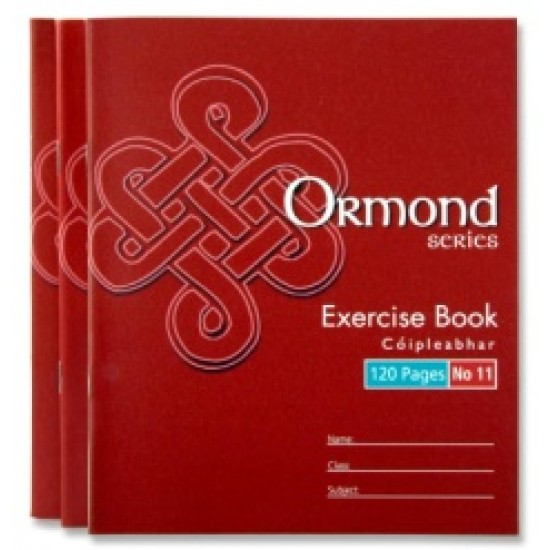 120 page exercise copy pack 10 Copies