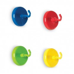 LER 2694 Super Strong Magnetic Hooks (Set of 4)