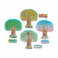 3214 Four Season Trees bulletin board display
