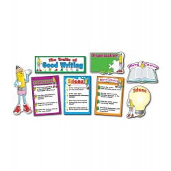 3284 Traits of Good Writing bulletin board display
