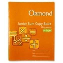 40 page 20mm junior sum copy pk 20
