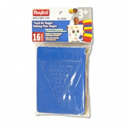 R48230 Teach Me Shapes: Rubbing Plate Shapes
