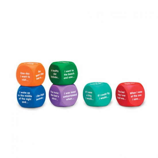 LER7232 Writing Prompt Cubes Classroom Resources