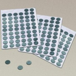 87225 Self-Adhesive Magnetic Dots - Pk300