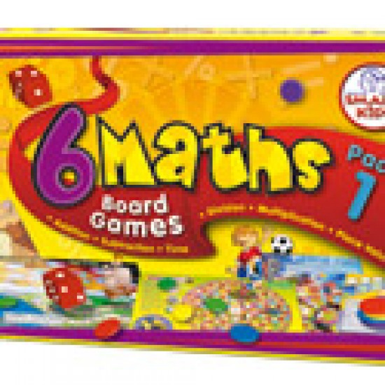 6 Maths Board Games Classroom Resources
