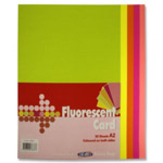A2 Fluorescent chart card Arts & Crafts