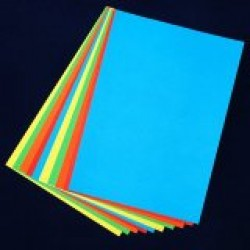 A3 Coloured paper pack 100 sheets