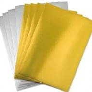 A4 Gold & Silver paper