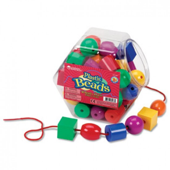 F188A Shape bead and laces Classroom Resources