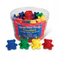 LER0744 Three Bear Family  Counter Set