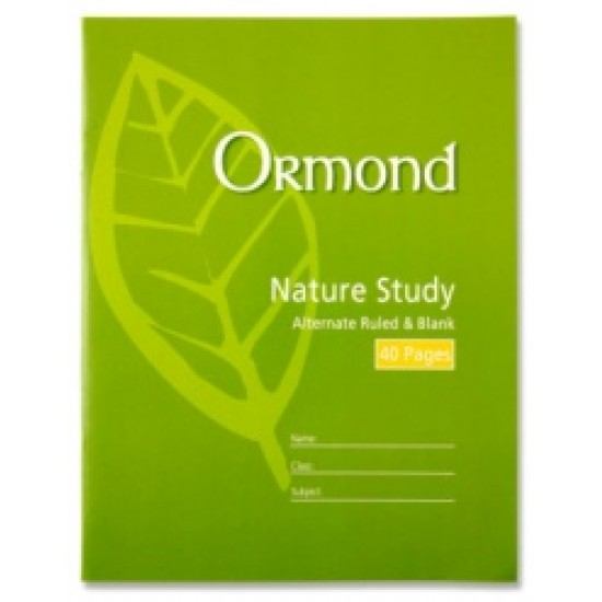 40page Nature study copy pack 20
