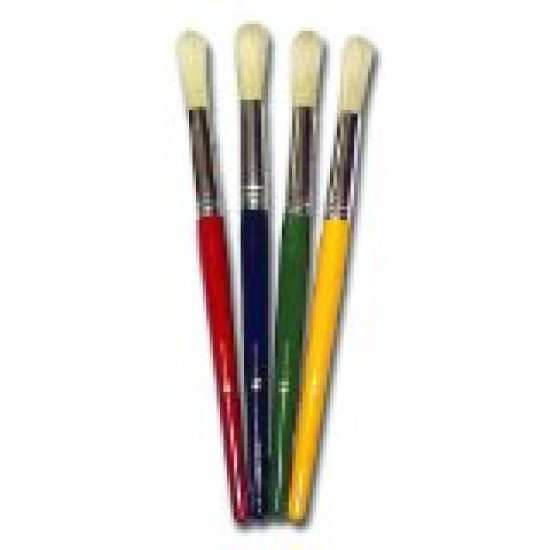 Chubby paint brushes
