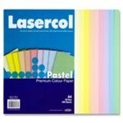 A4 Pastel Coloured paper pack 100 sheets