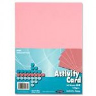 A4 Pink card pack 250 sheets