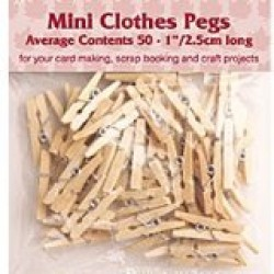 Clothes pegs 5/8""