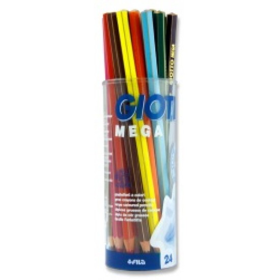 Jumbo colouring pencils
