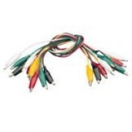 23016 Crocodile Clip Lead Set Pack10