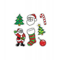 CD-2905 Christmas dazzle stickeres pack 105