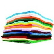 A4 Felt assorted pack 30 sheets