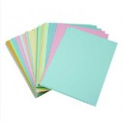 "12"" x 4"" Pastel coloured flash cards"