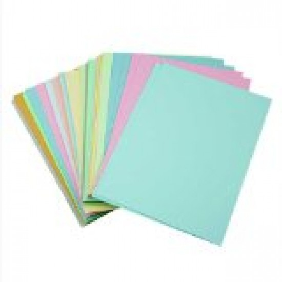"""12"""" x 4"""" Pastel coloured flash cards Arts & Crafts"""