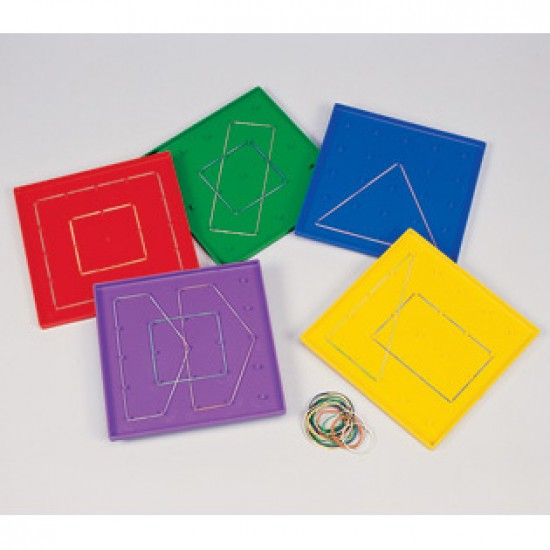 EE222 23cm Pin Geoboards Classroom Resources
