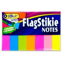 7x20 Sheet Flag Page Markers - Neon - Stik-ie