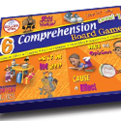 Reading Comprehension Board Games