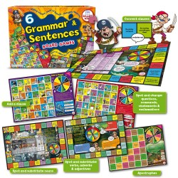 L83 6 Grammar & Sentences Board Games