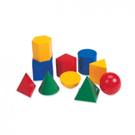 Large Plastic Geometric Shapes Classroom Resources