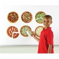 LER5062 Magnetic Pizza Fractions