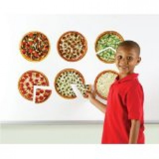 LER5062 Magnetic Pizza Fractions Classroom Resources
